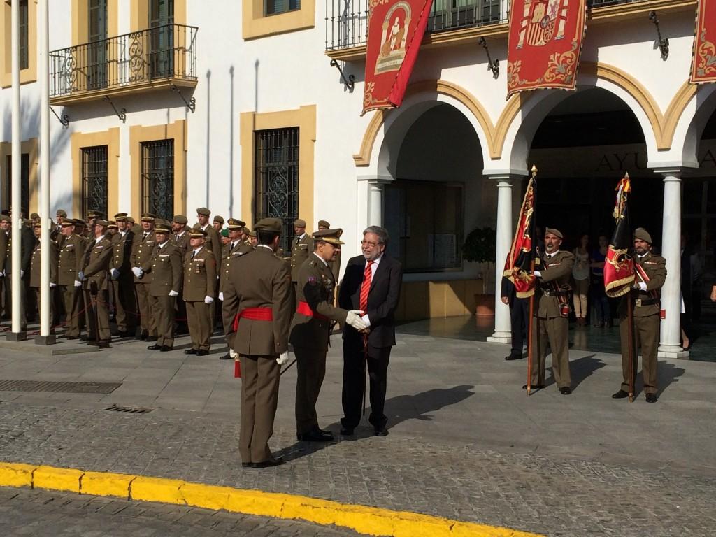 Recibimiento del General Campins/ Sergio Maya