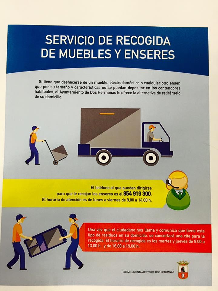 Servicio De Recogida De Muebles : El ayuntamiento pone en marcha un servicio de recogida