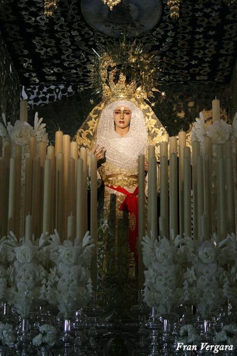 Pasión en sus pasos procesionales