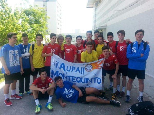 El cadete del Balonmano Montequinto cae en cuartos de final en el ...
