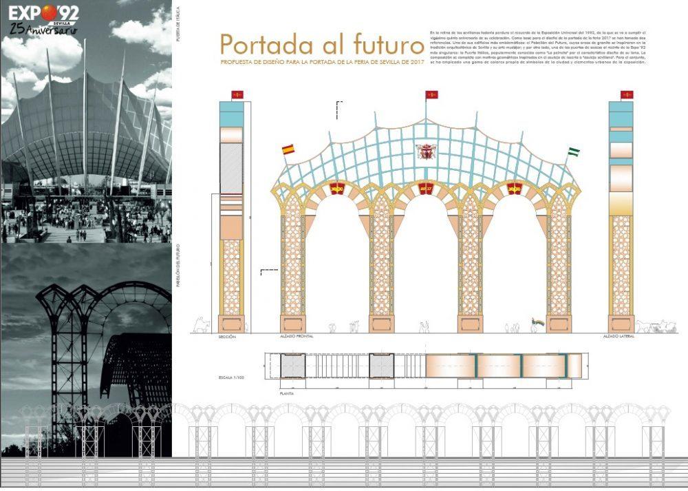 """Diseño """"Portada al Futuro"""" de Alberto Moreno"""