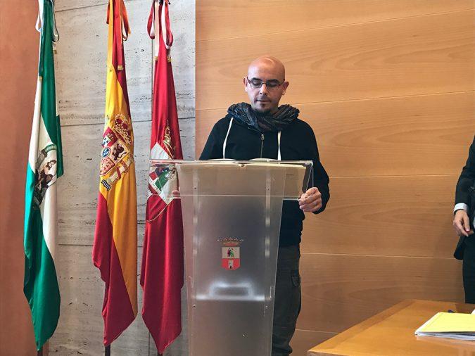 Jura del cargo de Chema García.