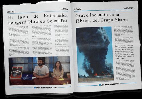 Periódico de noticias de Dos Hermanas.